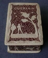 ANTIQUE GUERLAIN PARIS CARBOARD LINED IN PAPER PERFUME BOX   #388