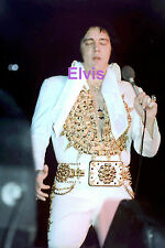 ELVIS PRESLEY IN MEXICAN SUNDIAL SUIT TCB RING LARGO MD 5/22/77 PHOTO CANDID #2