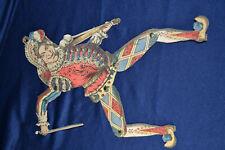 uralter Hampelmann um 1900 schöne Deko für Puppen Harlekin alt antik