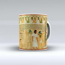 Egyptian Design Ceramic Coffee Tea Mug Cup 11 Oz