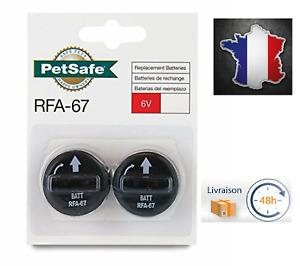 PetSafe Lot de 2 Piles RFA-67 (6V) pour Collier de Dressage Chien Anti Aboiement
