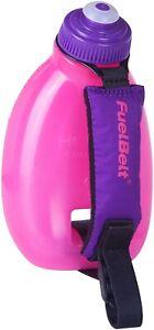 FuelBelt Helium Sprint Hand Held Runners Water Bottle Pink Sports Drinks Bottle