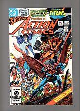 ACTION COMICS # 546   ( 1983 )    UNREAD ! TEEN TITANS   DC COMICS   SHARP COPY!