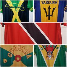 Barbados/Grenada/Guyana/Jamaica/Trinidad Round Neck T shirts
