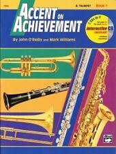 ACCENT ON ACHIEVEMENT 1 Bb Trumpet + CD*