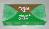 (4,95€/100gr) 200 gr Packung Anchor Artiste Mercer Crochet Stärke 10 Häkelgarn