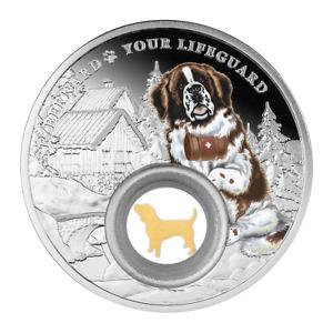 2021 St. Bernard - Dogs – Man's Best Friends Silver Coin