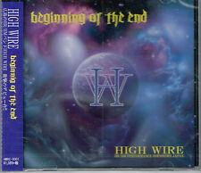 HIGH WIRE / Beginning of the End CD Japan Female Fronted Hard Rock Hiroshima NEW