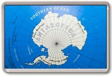 FRIDGE MAGNET - ANTARCTICA MAP - Large Jumbo - Cute