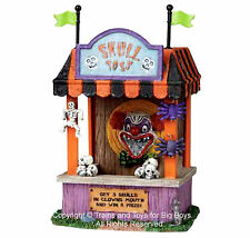 Lemax 03822 SKULL TOSS Spooky Town Table Accent Carnival Halloween Decor G I