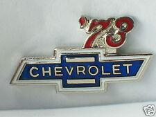1973 Chevrolet Pin Badge Chevy Auto Pin Lapel Hat Tack
