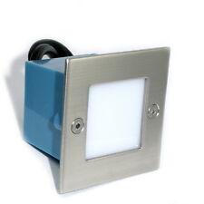 3 -14er Sets LED Wand Einbaustrahler Royal 230V Treppen Stufenbeleuchtung Spot