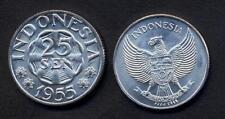 INDONESIA 25 Sen 1955 UNC