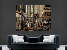 NEW YORK CITY TIMES SQUARE USA MANHATTEN WALL POSTER ART PICTURE PRINT LARGE