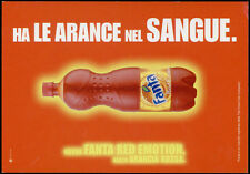 cartolina pubblicitaria PROMOCARD n.3676 FANTA RED EMOTION ARANCIA ROSSA