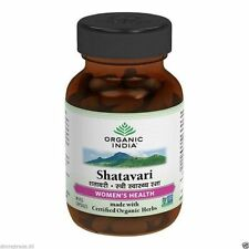 Shatavari Hormonal Balance 60 Veg. Caps.by Organic India for Menopausal Syndrome