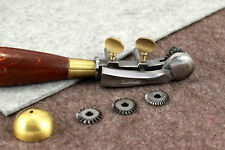 Vergez Blanchard Adjustable Leather Marking Tool with Guide + 4 Pricking Wheels