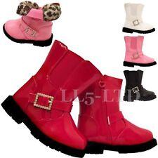 Chaussures moyens à boucle pour fille de 2 à 16 ans