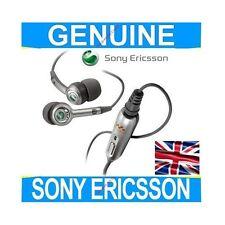 GENUINE Sony Ericsson HPM-70 Headset Headphones Earphones Phone Handsfree silver