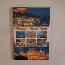 Monaco Monte Carlo cartes postales guide photos vintage éditions MOLIPOR N4012