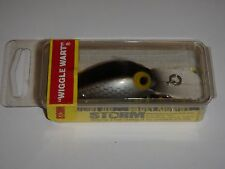 Storm Wiggle Wart Fishing Lure V3 Silver Scale RED LABEL!