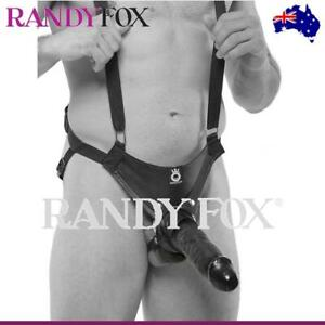 NEW Pipedream 10-Inch Hollow Strap-On Dildo Suspender System