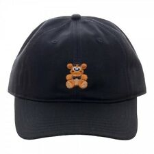 OFFICIAL FIVE NIGHTS AT FREDDY'S FAZBEAR EMBROIDERED BASEBALL CAP (DAD HAT)