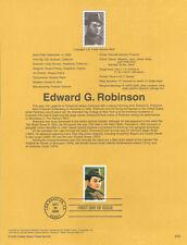 #0025 33c Edward G. Robinson #3446 Souvenir Page