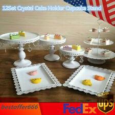12Set Crystal Cake Holder Cupcake Stand Party Cake Dessert Holder European Style