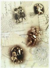 Printed Translucent/Vellum Scrapbook  Paper A/4 Postcard 2