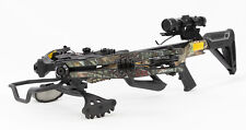 Bruin Ambush 345 Crossbow Package w/ Scope, Bolts, Quiver and Cocking Rope Camo