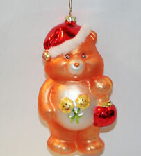 2003 Care Bears Santa FRIEND Bear Glass Blown Ornament American Greetings