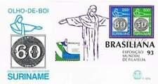 Suriname republiek 1993 FDC E167A onbeschreven open klep