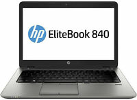 HP EliteBook 840 G2 intel i7 5th Gen 5600U Laptop 8gb ram 500gb HDD Win 10 Pro