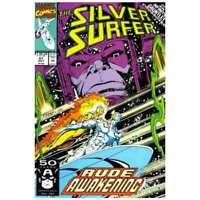 Silver Surfer (1987 series) #51 in Very Fine + condition. Marvel comics [*3d]