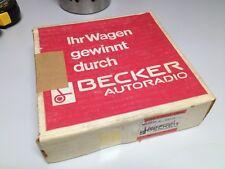 """Becker Europa II estéreo lmku, """"embalaje originales"""" cartón; radio del coche, odtimer"""