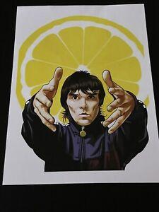 Ian Brown Stone Roses A3 Print