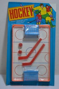 Vintage Table Hockey Game 2 Player 70's Made in Hong Kong