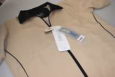 Proquip Ladies Short Sleeved Liberty Wind Resistant Golf Top Teflon Coat S 10/14