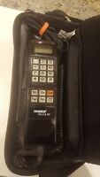 Vintage Motorola SLN8189B Cell Phone w/ Car Charger In Case- Very Rare Powers On
