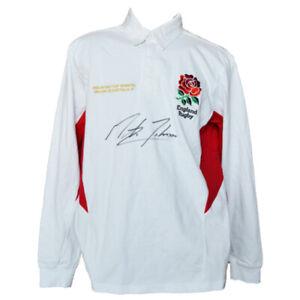 Martin Johnson Signed England Shirt