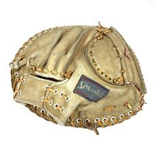 Vintage Spaulding USA Tom Haller 42-7639 Professional Model Catchers Mitt Glove