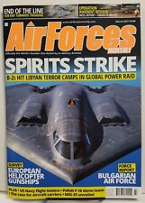 Air Forces Monthly Spirits Strike Helicopter Gunships Mar 2017 FREE SHIPPING jb