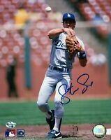Steve Sax Signed 8X10 Photo Autograph Los Angeles Dodgers Auto Ball in Air w/COA