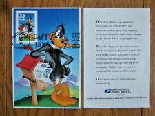 "DAFFY DUCK WARNER BROTHERS 1999 3.5""X5"" FD CANCELLED SHEET"