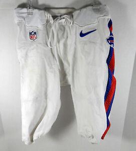 2012-15 Buffalo Bills #45 37 Game Used White Shorts 34 BILL0525