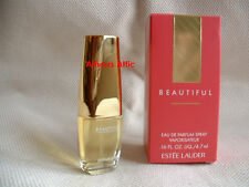 Estee Lauder BEAUTIFUL eau de parfum spray MINI 0.16 oz / 4.7 ml BNIB