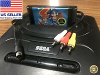 Sega Genesis Model 2 Composite Video AV Cable / RCA Cord 🏅 90-day Warranty