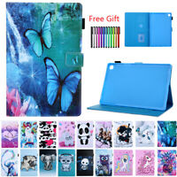 For Samsung Galaxy Tab A/A6 E S5e 2019 Tablet Pattern Leather Stand Case Cover
