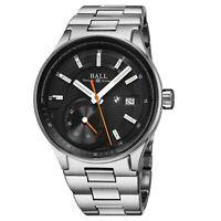 Ball Men's BMW Black Dial Stainless Steel Swiss Automatic Watch PM3010C-SCJ-BK